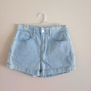Forever 21 Mother high waisted jean shorts